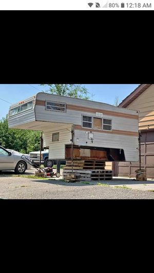 """1972 """"Security Travel"""" cab over camper for Sale in Richland, WA"""