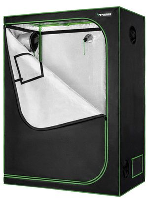 Vivosun 48x24x60 Mylar grow tent+floor tray for Sale in Middlebury, CT