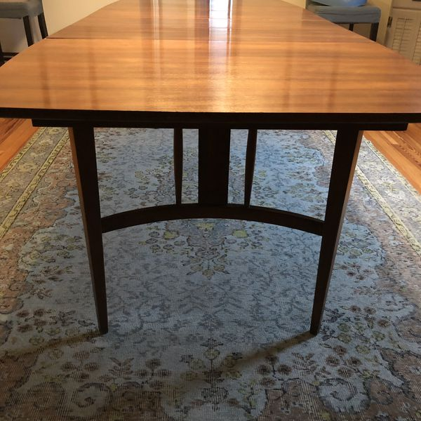 Mid century Modern table 5' stretches to 8' surfboard