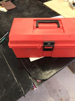 Small tool box full of tools. Perfect for in home repairs, or for your car for emergency repairs. $30 for Sale in Peoria, AZ