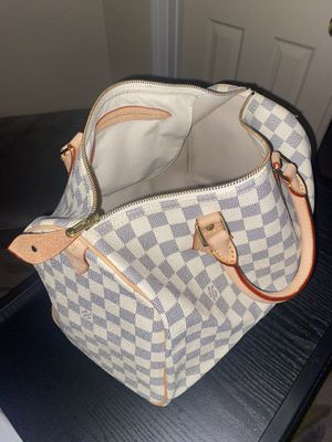 Auth Louis Vuitton 35 Damier Azure Speedy Purse for Sale in Pasco, WA