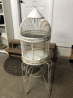 Bird Cage Antique Parrot Cage for Sale in Lakeside, AZ
