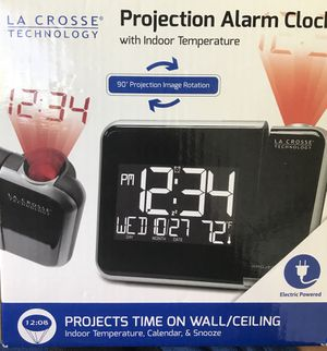 Projection alarm clock NEW STILL IN BOX for Sale in Columbus, OH