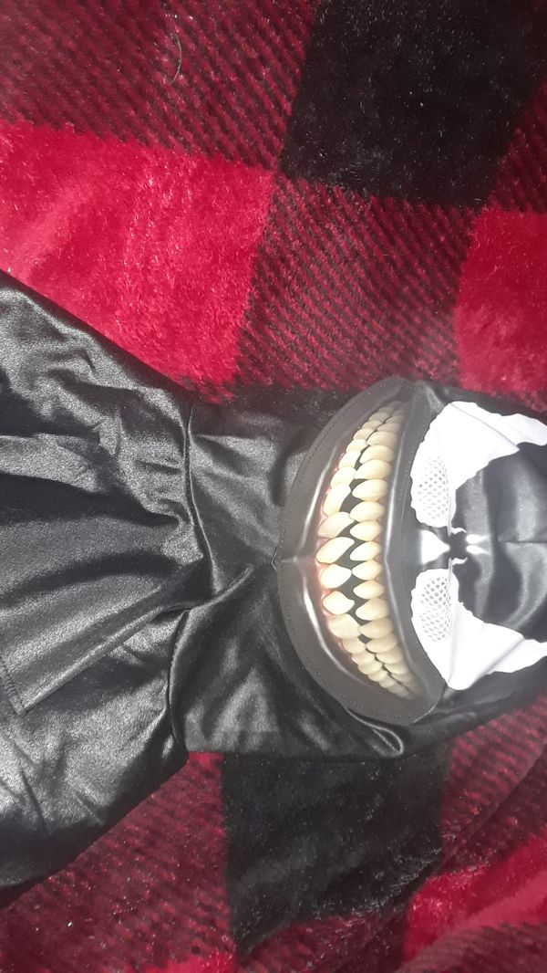 Venom mask with holographic smile