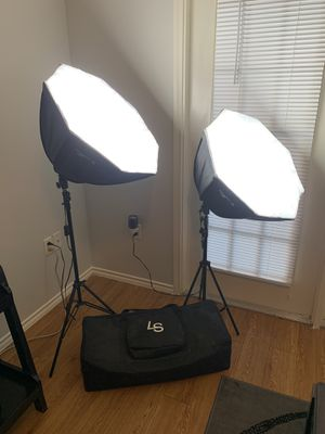 Studio Lights *Like New* for Sale in Schertz, TX