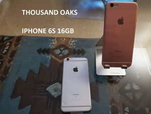 iPhone 6S 16GB Unlocked All Carriers All Countries for Sale in Thousand Oaks, CA
