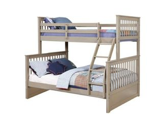 Columbus Day Special- [SPECIAL] Rockwell Sandwash Twin over Full Bunk Bed for Sale in Houston, TX