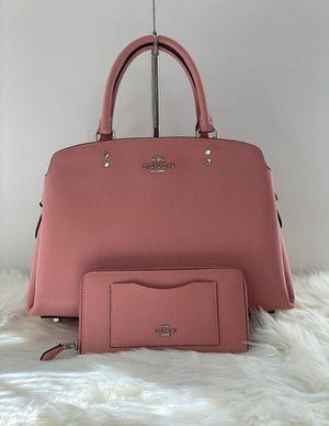 Coach purse/handbag and accordion zip wallet for Sale in Temecula, CA
