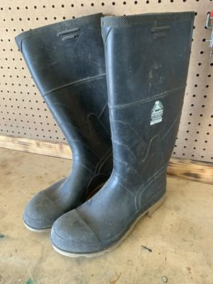 Size 13 steel toe rain boots for Sale in Hesperia, CA