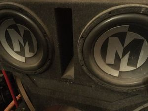 "12"" Memphis audio speakers & box for Sale in Phoenix, AZ"