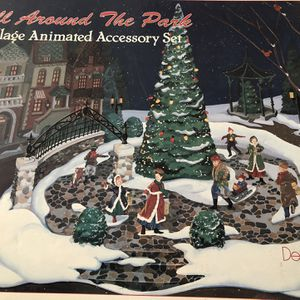 Department 56 All Around The Park Animated Accessory Set for Sale in North Royalton, OH