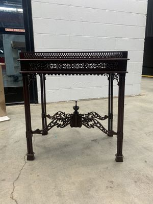 Indonesian antique hand carved table for Sale in Lafayette, LA
