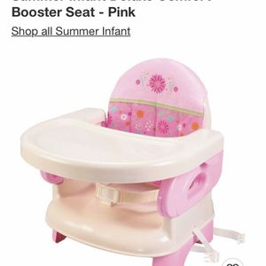 Pink Booster Seat for Sale in Fresno, CA