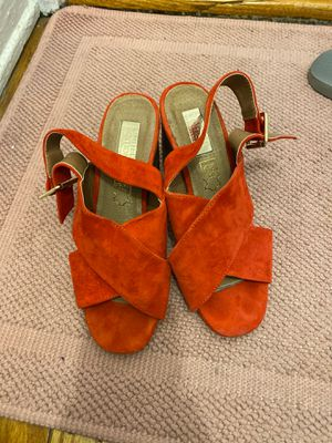 Red mid size heels , US size 5 for Sale in New York, NY