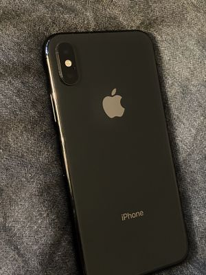 Like New, iPhone X , 256 GB , with Charger, Will unlock for you before you buy for Sale in Portland, OR