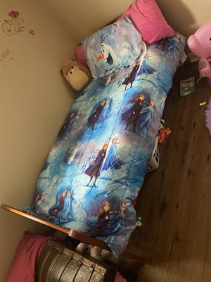 Twin size bed with plastic protected mattress for Sale in Nashville, TN