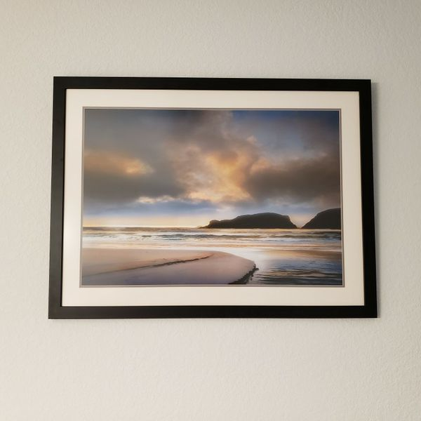 42 5/8inches Wide By 32inches High Ocean Scene Photography