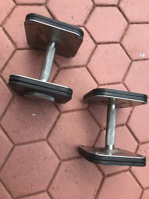 Ironmaster 120lb Dumbbells set w/ stand for Sale in Miami Gardens, FL