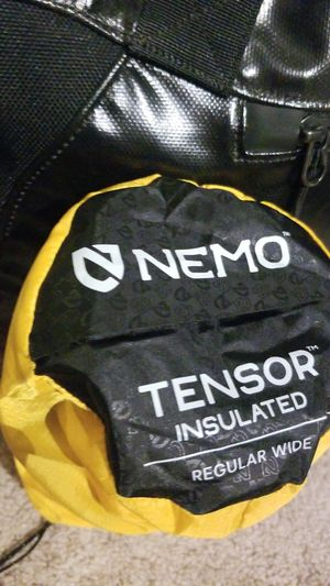 Brand new Nemo Tensor sleeping pad for Sale in San Diego, CA