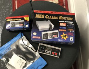 New Nintendo NES Classic edition preloaded with 30 games for Sale in South El Monte, CA
