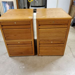 Oak File Cabinets for Sale in Beaverton, OR