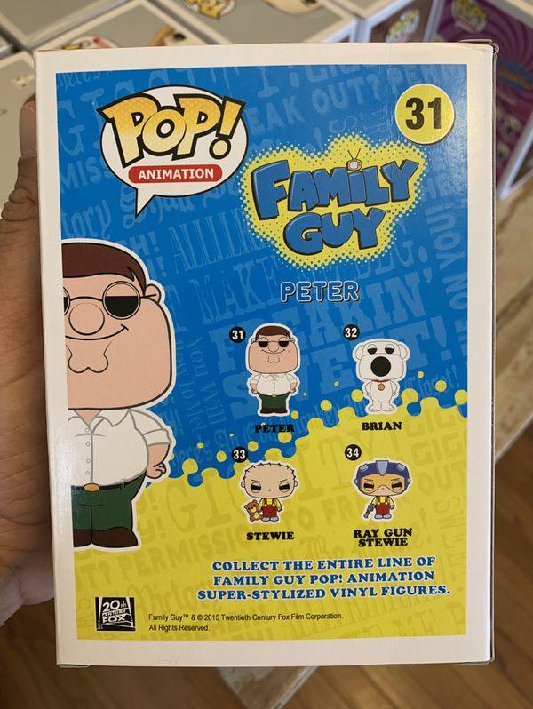 Funko POP! Family Guy Peter