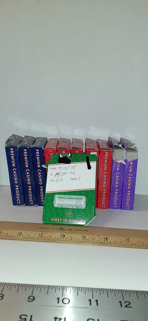 Real poker used playing cards for Sale in Arvada, CO