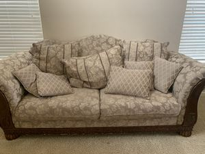 Large couch and loveseat set for Sale in Camas, WA