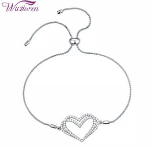 🔥Brand new! Adjustable charm bracelet for women 925 sterling silver double heart shape for Sale in Anaheim, CA