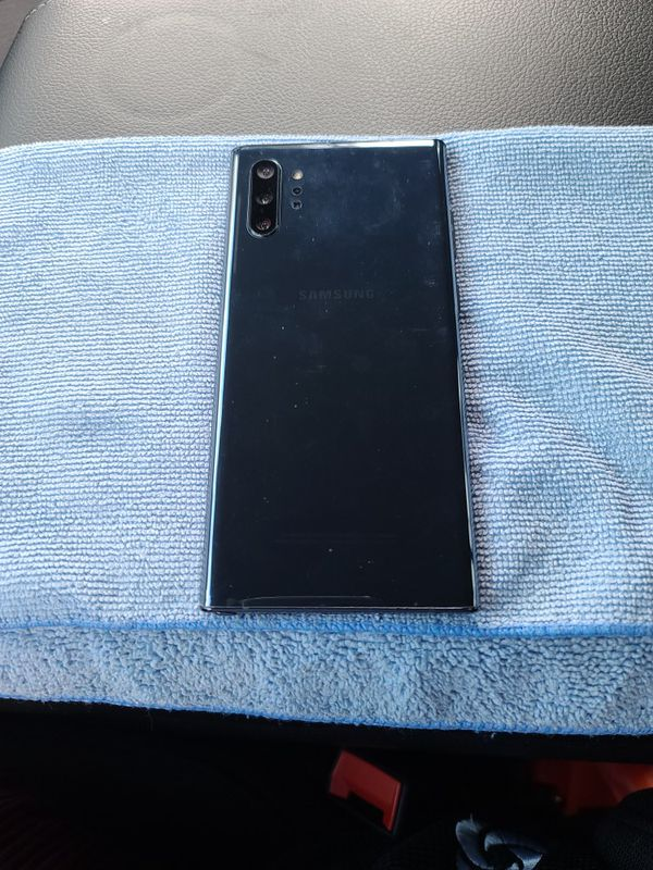 Black! Factory Unlock ! Note10 Plus ---256 Gb In Great Condition