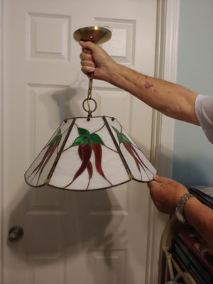 STAIN GLASS CHANDELIER for Sale in Peoria, AZ