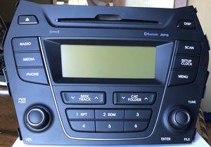 13-14 Hyundai Santa Fe Sport Auto Parts Audio OEM Assembly CD MP3 Satellite Radio for Sale in Scottsdale, AZ