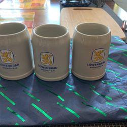 3 German Beer Mugs for Sale in Queens,  NY