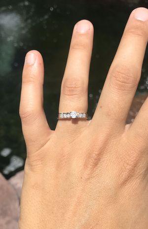 14k White Gold & Diamond Ring for Sale in Castro Valley, CA