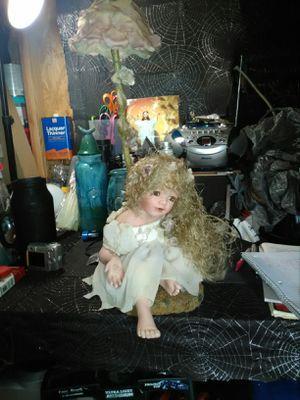 Antique Porcelain Doll Lamp for Sale in Melbourne, FL