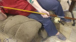 Solid antique fishing rods for Sale in Lumberton, TX