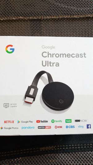 Google Chromecast Ultra-New for Sale in Meridian, ID