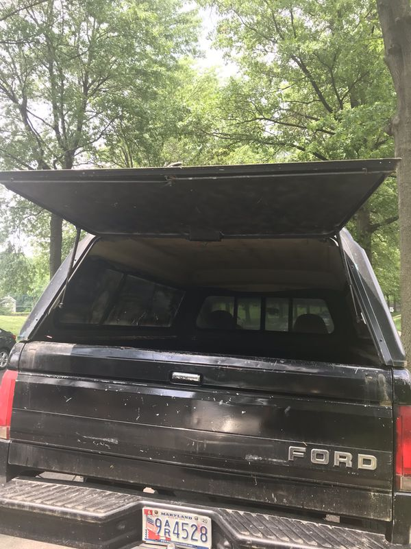 Ford F-150 camper