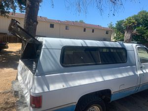 Long bed camper shell for Sale in Monterey, CA