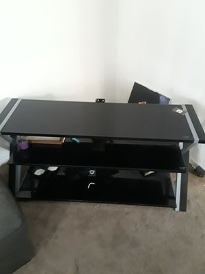 Tv stand with mount (not shown) for Sale in Detroit, MI