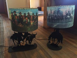 Wichita trading company vintage lamps for Sale in Hotchkiss, CO