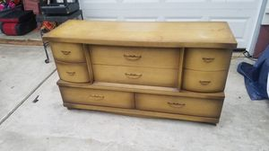 Solid wood dresser for Sale in Houston, TX