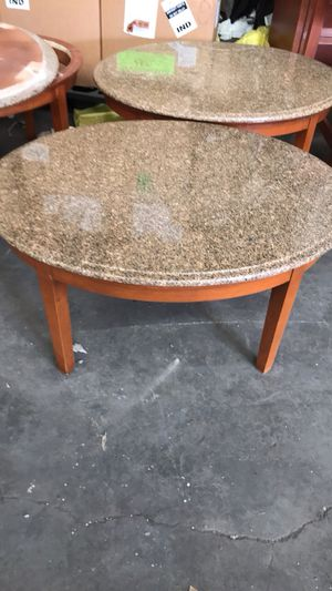 Granite top coffee tables for Sale in East Saint Louis, IL