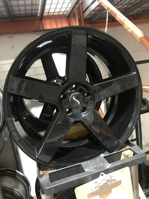 22 inch Jeep wheels !!! 5x5 Blowout $400 for Sale in Tampa, FL