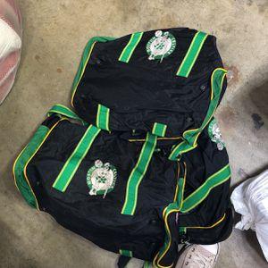 3 Boston Celtics Duffle Bag Set for Sale in Banning, CA