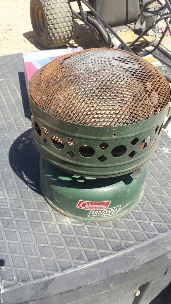 Coleman heater