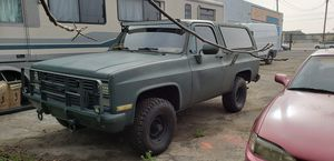1986 Diesel Military Chevy Blazer for Sale in Los Angeles, CA