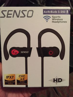 Senso ActivBuds HD Wireless Headphones for Sale in Austin, TX