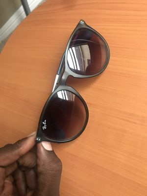 Ray Ban Sunglasses Erika Classic Unisex Grey/silver Frame Black fade Lenses for Sale in Sugar Land, TX