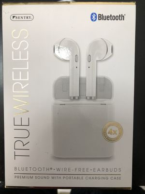 Sentry Wireless Bluetooth Earbuds White One Size for Sale in Upper Marlboro, MD
